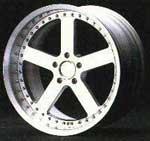 Manaray Sport Hyper Revolution 19x10.5 5x114.3 +39 3pc wheel from UpgradeMotoring.com