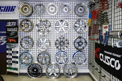 Just a sample of Single wheels from Volk Racing, SSR, Work, Yokohama, Gram Lights GGames, Lexion and More available at UpgradeMotoring.com