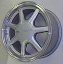 Fittipaldi Indy 15x6.5 5x114.3 Silver wheels from UpgradeMotoring.com