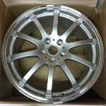 Nismo A34 19x8.5 5x114.3 +35 Silver by Rays Engineering on Sale at UpgradeMotoring!