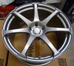 Yokohama T7 19x10 5x114.3 +25 Silver Metallic wheel on Sale at UpgradeMotoring.com