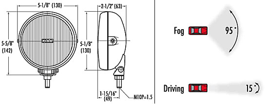 piaa driving and fog clear and ion crystal lamp kits from upgrade piaa 540 series lamp kit dimensions from upgrade motoring