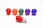 Silicone Light Bulb Covers - Red, Amber, Green, Purple, Blue. On Sale at UpgradeMotoring.com