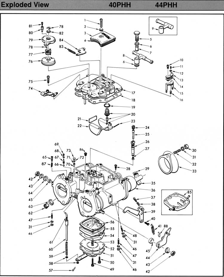 Mikuni Carb Parts Breakdown : Mikuni vm carburetor diagram html free engine