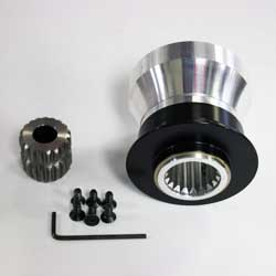 Upgrade Motoring Quick Release Bolt On and Weld On Steering Wheel Adapters from UpgradeMotoring.com