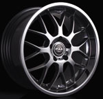 Piaa Sport Mesh Hyper Black wheel from Upgrade Motoring